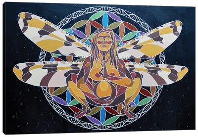 Mamalasana Canvas Art Print