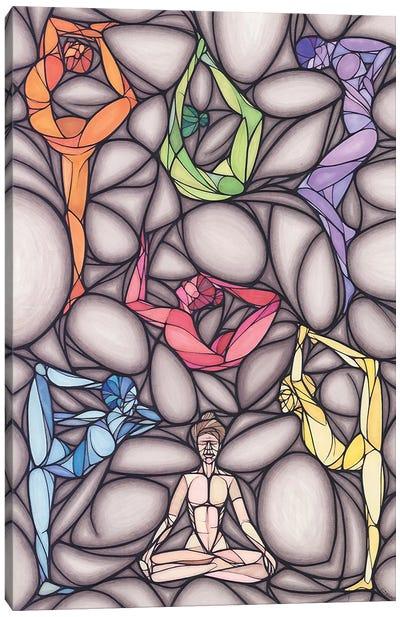 Pranayama Canvas Art Print