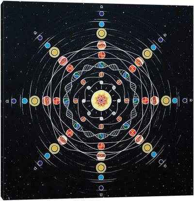 Solar Identity Canvas Art Print