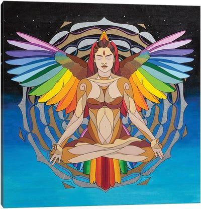 Soul Bird Rise Canvas Art Print