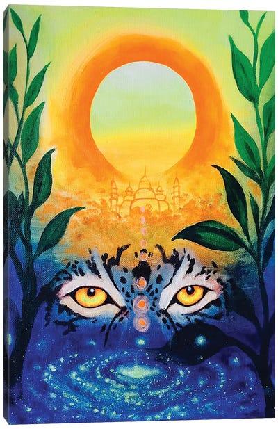 Sol Central Canvas Art Print