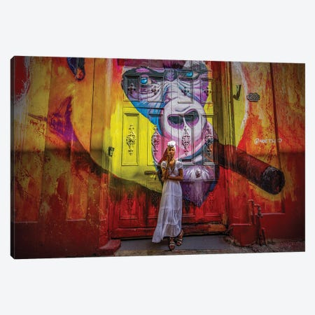 Havana Santeria Story Canvas Print #RYG12} by Robin Yong Canvas Art