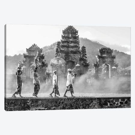 Balinese Procession Canvas Print #RYG23} by Robin Yong Canvas Print