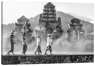 Balinese Procession Canvas Art Print