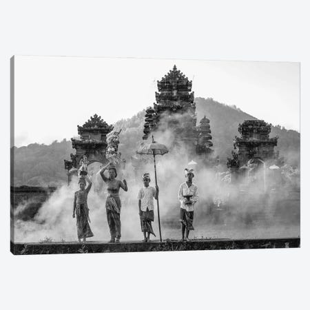 Balinese Procession II Canvas Print #RYG34} by Robin Yong Canvas Art Print