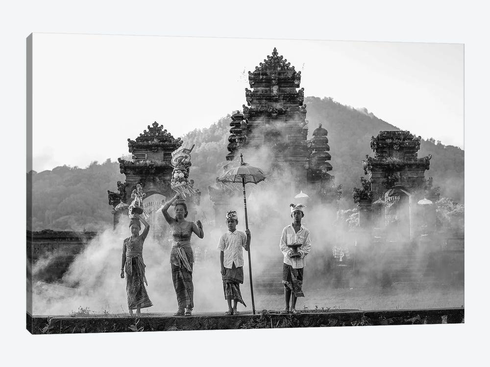 Balinese Procession II by Robin Yong 1-piece Canvas Artwork