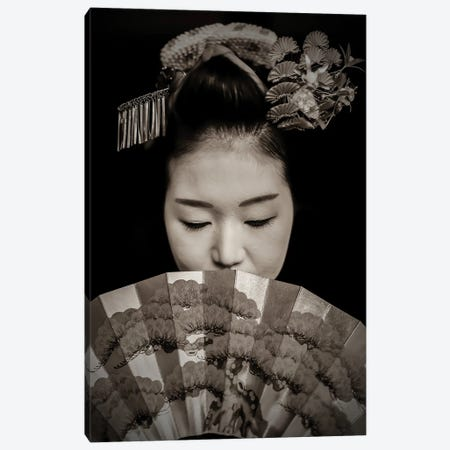 Geisha Canvas Print #RYG43} by Robin Yong Canvas Print