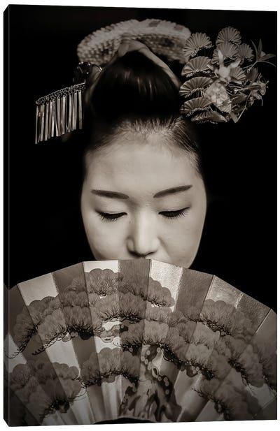 Geisha Canvas Art Print