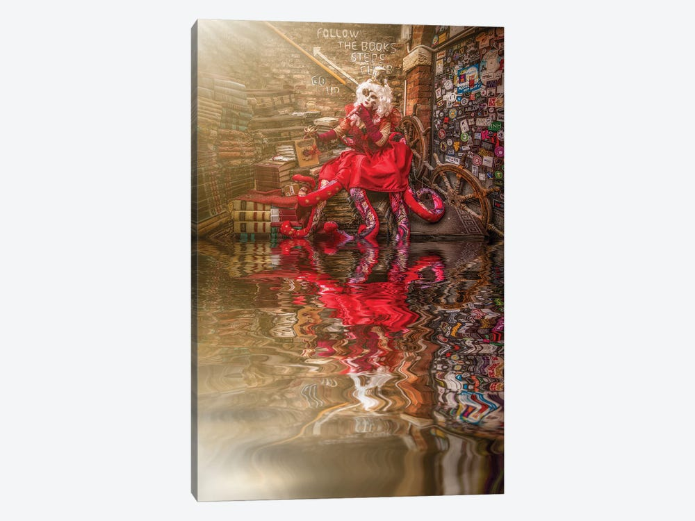 The Return Of Lady Octopus by Robin Yong 1-piece Canvas Print
