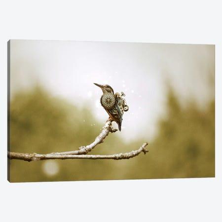 Mechanical Hummingbird Canvas Print #RYK18} by Shaun Ryken Canvas Art