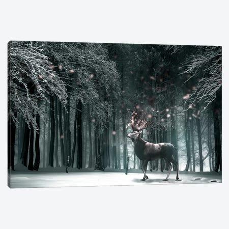 Oh Deer Canvas Print #RYK20} by Shaun Ryken Canvas Art Print