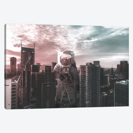 Space Between Two Tones Canvas Print #RYK25} by Shaun Ryken Canvas Art