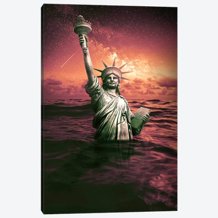 The End Canvas Print #RYK27} by Shaun Ryken Canvas Art
