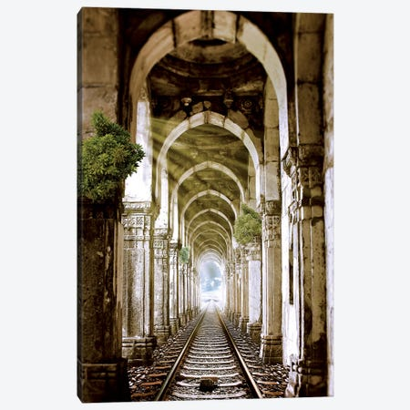 Train To Heaven Canvas Print #RYK29} by Shaun Ryken Canvas Art Print