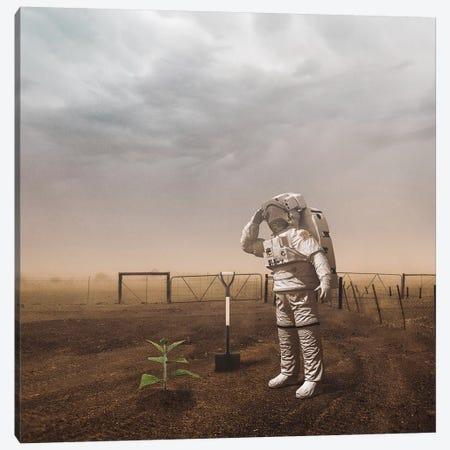 Astro Plant Canvas Print #RYK32} by Shaun Ryken Canvas Art