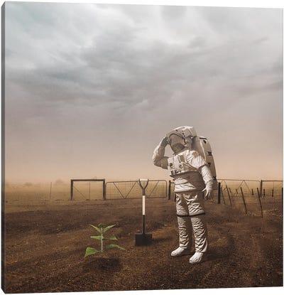 Astro Plant Canvas Art Print