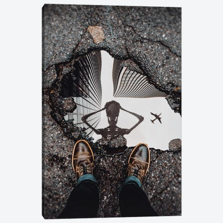 Dead Puddle Canvas Print #RYK33} by Shaun Ryken Canvas Wall Art