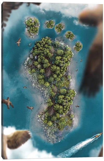 Eco Footprint Canvas Art Print