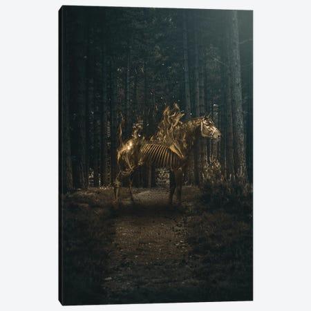 Flaming Horse Canvas Print #RYK35} by Shaun Ryken Canvas Print