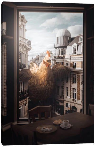 Chickens Revenge Canvas Art Print
