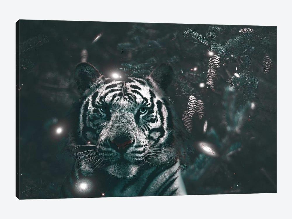 Creeping Tiger by Shaun Ryken 1-piece Canvas Art Print