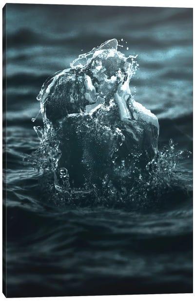 Wet Romance Canvas Art Print