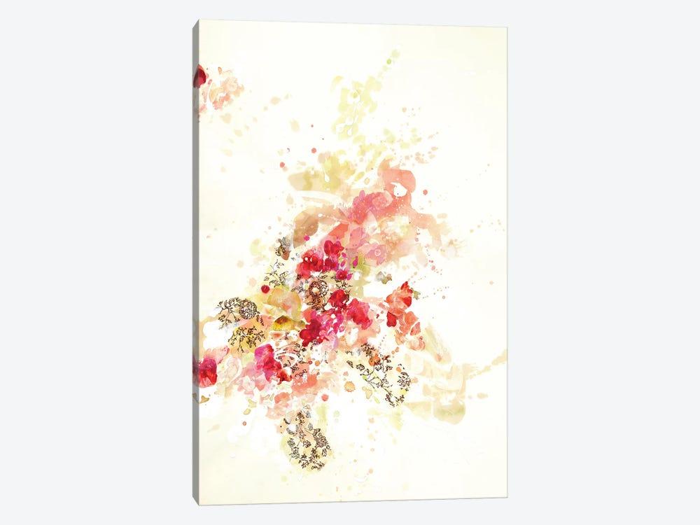 Composition II.B by Kathryn Neale 1-piece Canvas Art Print