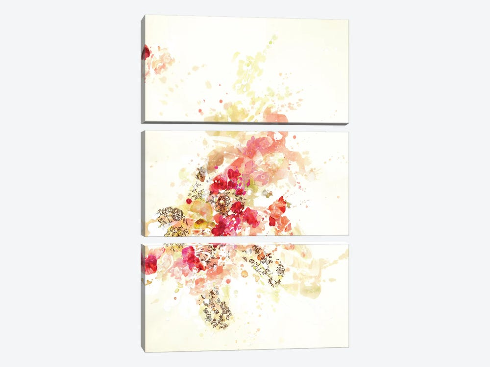Composition II.B by Kathryn Neale 3-piece Canvas Print