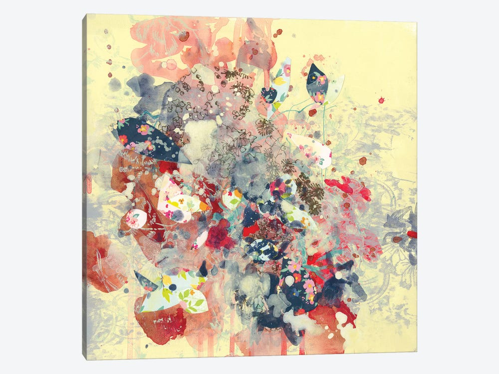 Cream I by Kathryn Neale 1-piece Canvas Artwork