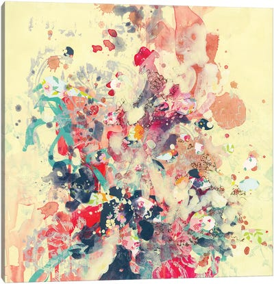 Cream III Canvas Art Print