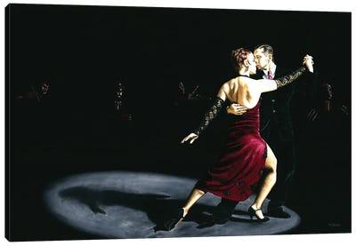 The Rhythm Of Tango Canvas Art Print