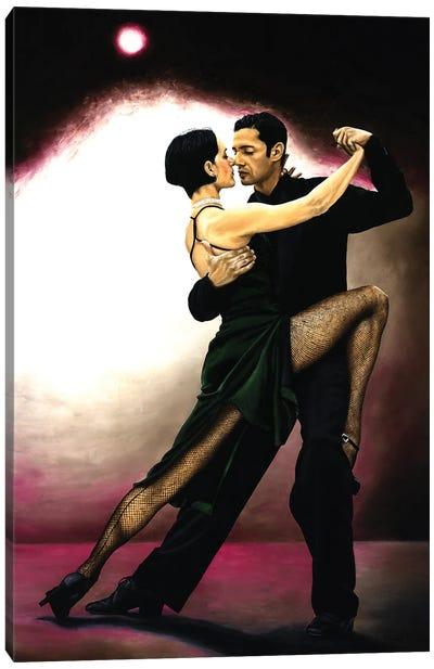 The Temptation Of Tango Canvas Art Print