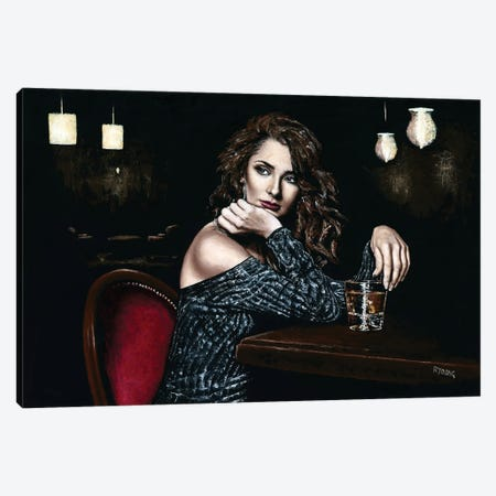 Whiskey Neat Canvas Print #RYO105} by Richard Young Canvas Wall Art