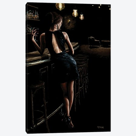 Late Night Deliberation Canvas Print #RYO108} by Richard Young Canvas Art Print