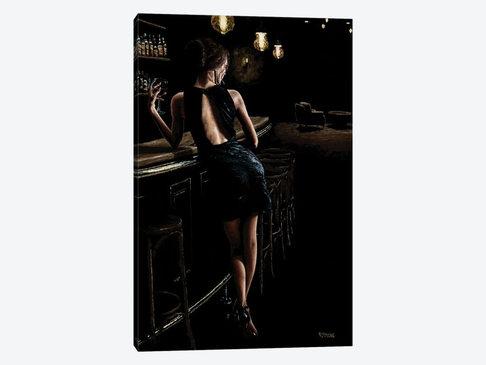 Late Night Deliberation by Richard Young 1-piece Canvas Print