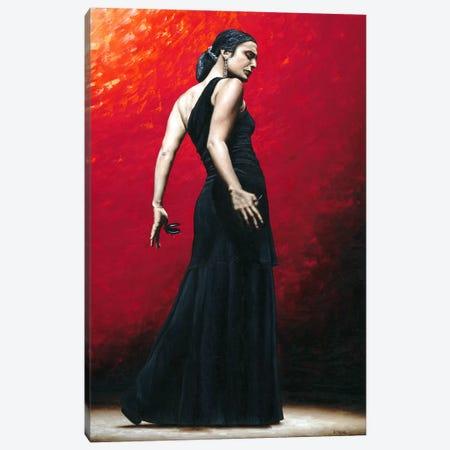 Flamenco Arrogancia Canvas Print #RYO17} by Richard Young Canvas Art Print