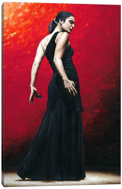 Flamenco Arrogancia Canvas Art Print