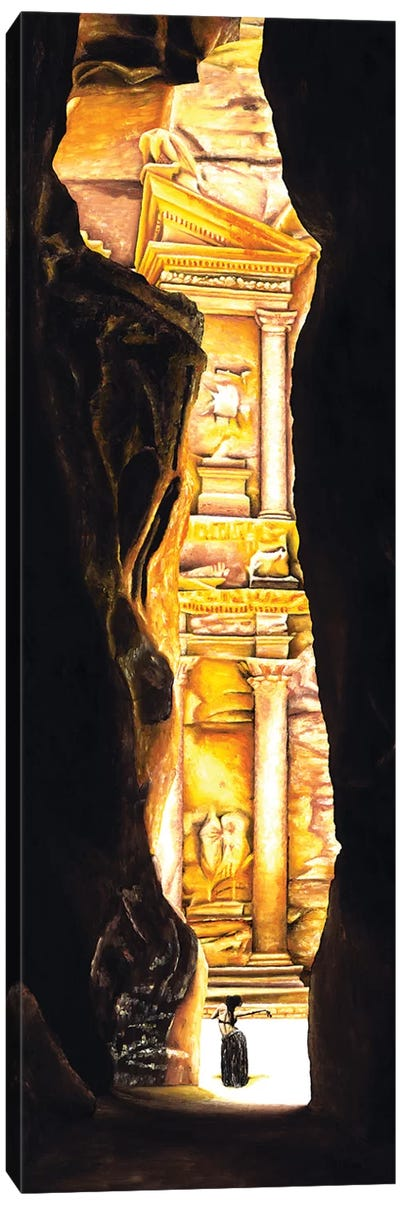 Homage To Petra by Richard Young Canvas Art Print