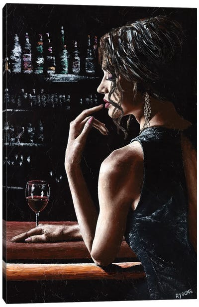 In The Midnight Hour by Richard Young Canvas Art Print