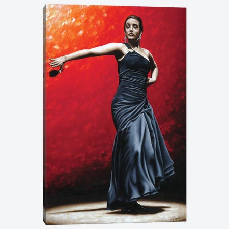 La Nobleza Del Flamenco Canvas Print #RYO28} by Richard Young Canvas Print
