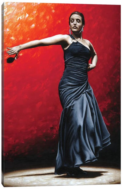 La Nobleza Del Flamenco Canvas Art Print