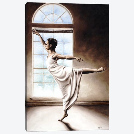 Light Elegance Canvas Print #RYO29} by Richard Young Art Print