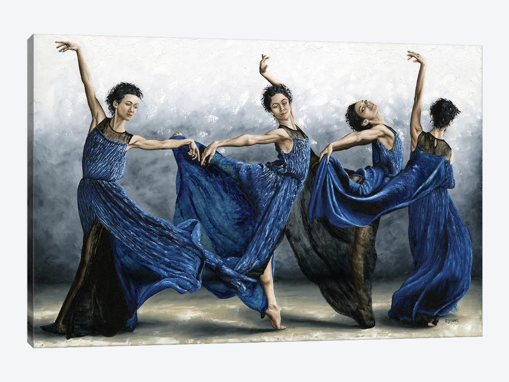 Sequential Dancer by Richard Young 1-piece Canvas Wall Art