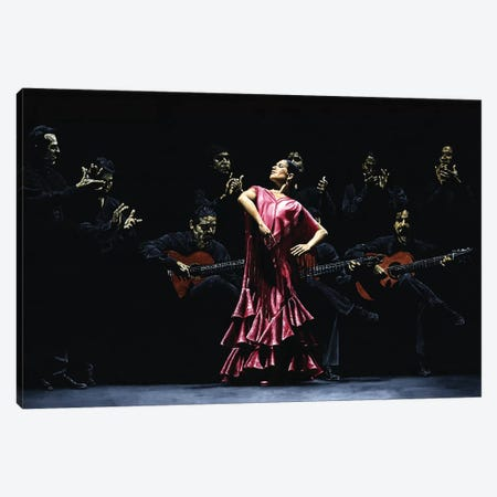 Bailarina Orgullosa Del Flamenco Canvas Print #RYO3} by Richard Young Canvas Print