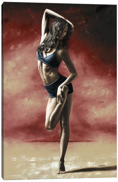 Sultry Dancer by Richard Young Canvas Art Print