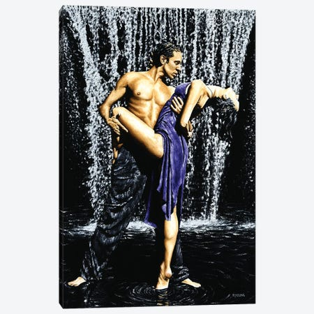 Tango Cascade Canvas Print #RYO42} by Richard Young Art Print