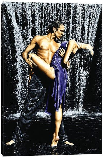 Tango Cascade Canvas Art Print
