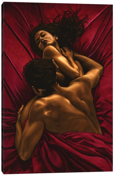 The Passion Canvas Art Print
