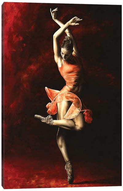 The Passion Of Dance Canvas Art Print