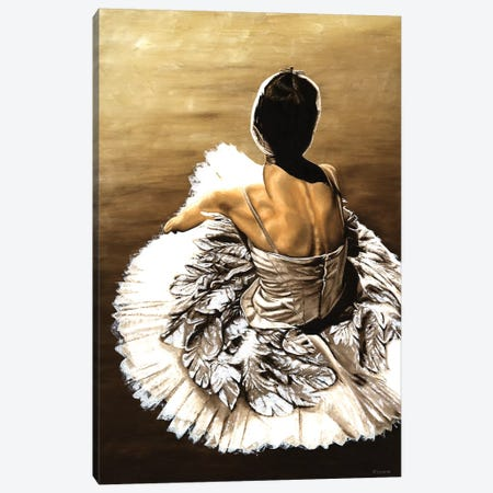Waiting In The Wings Canvas Print #RYO50} by Richard Young Canvas Art